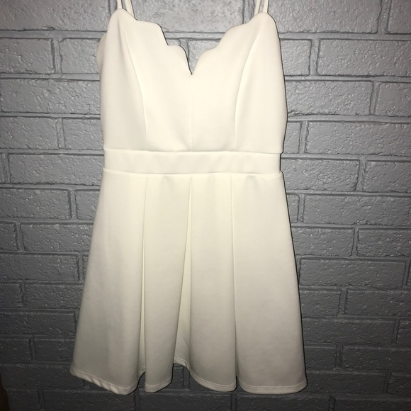 774389d4be9a B Darlin Dresses | Dillards White Dress | Poshmark